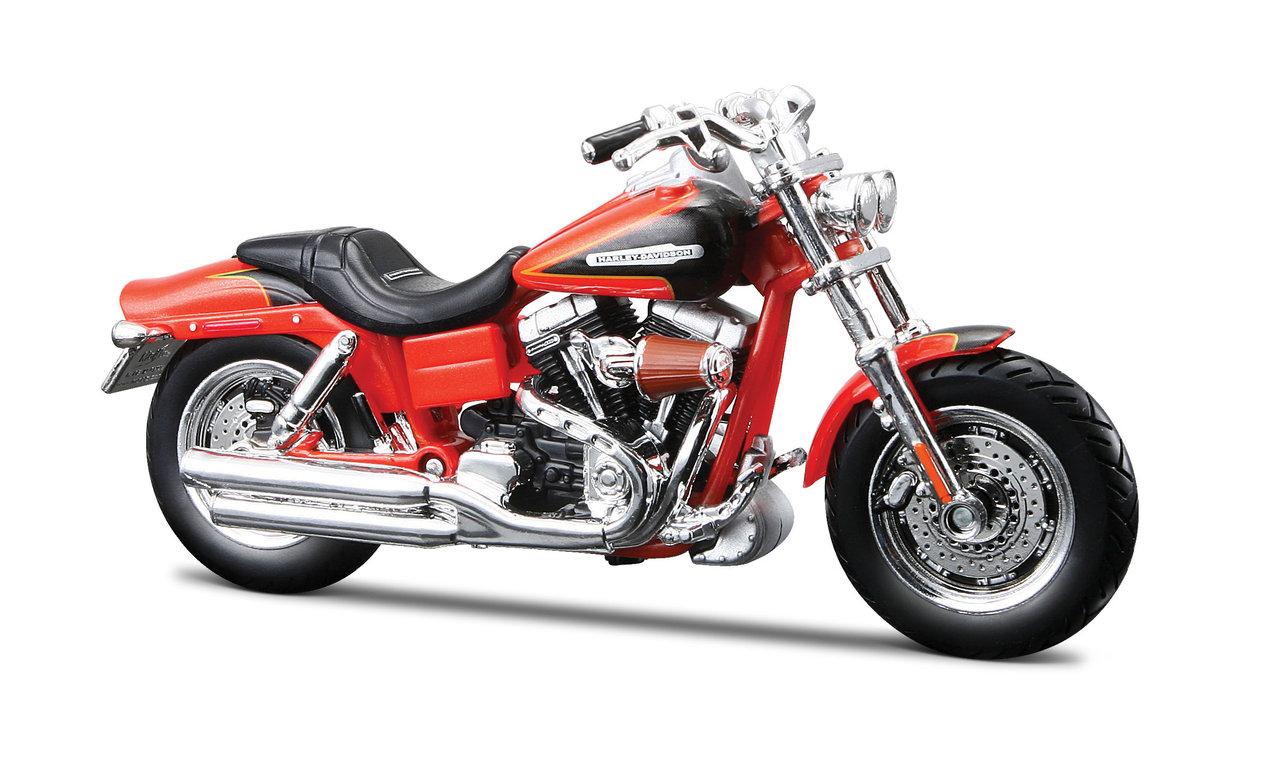 1:18 Harley-Davidson 2009 FXDFSE CVO Fat Bob orange
