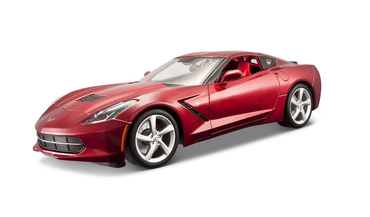 1:18 Chevrolet Corvette Stingray 2014 rot