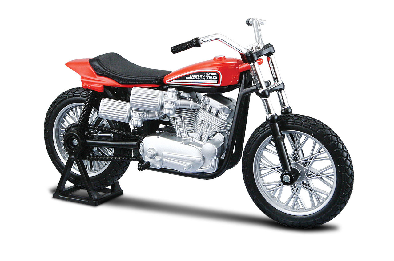 1:18 Harley-Davidson 1972 XR 750 Racing Bike