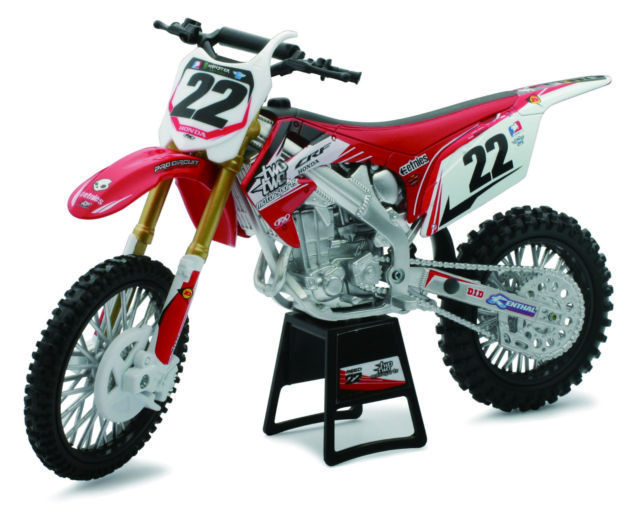1:6 Honda CRF 450 R twotwo Motorsports rot 2012