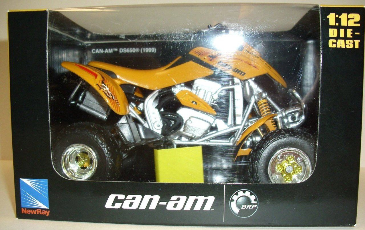 1:12 CAN-AM DS 650 gelb 1999