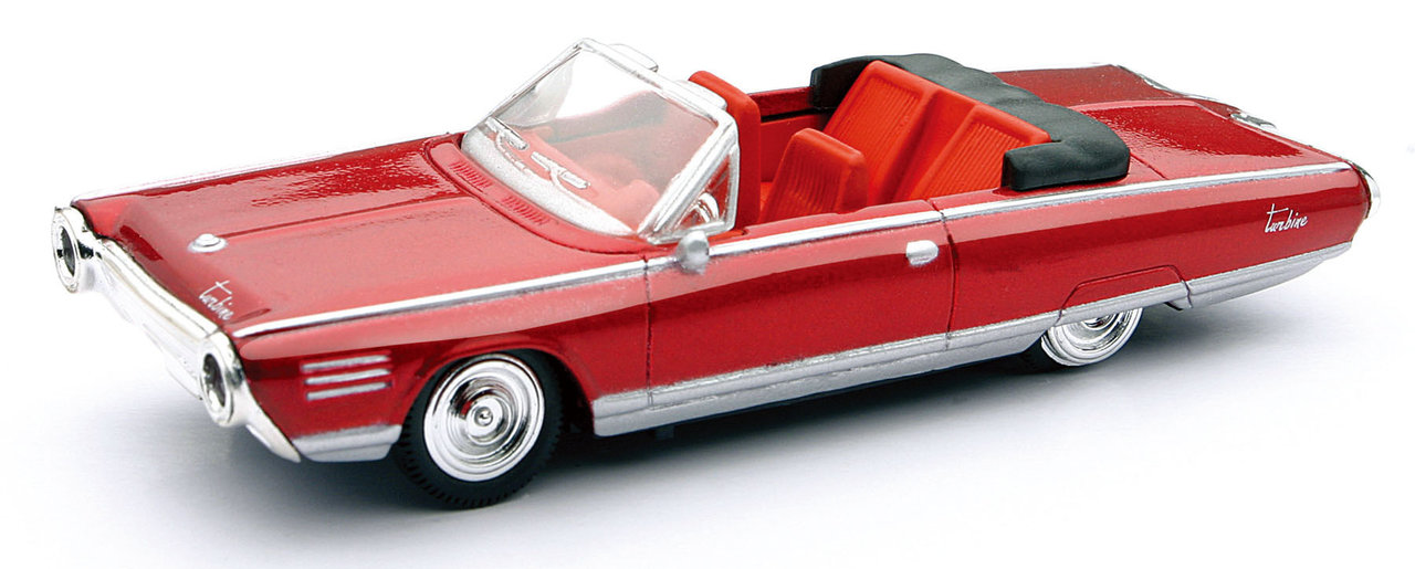 1:43 Chrysler Turbine Car Cabrio 1964 rot