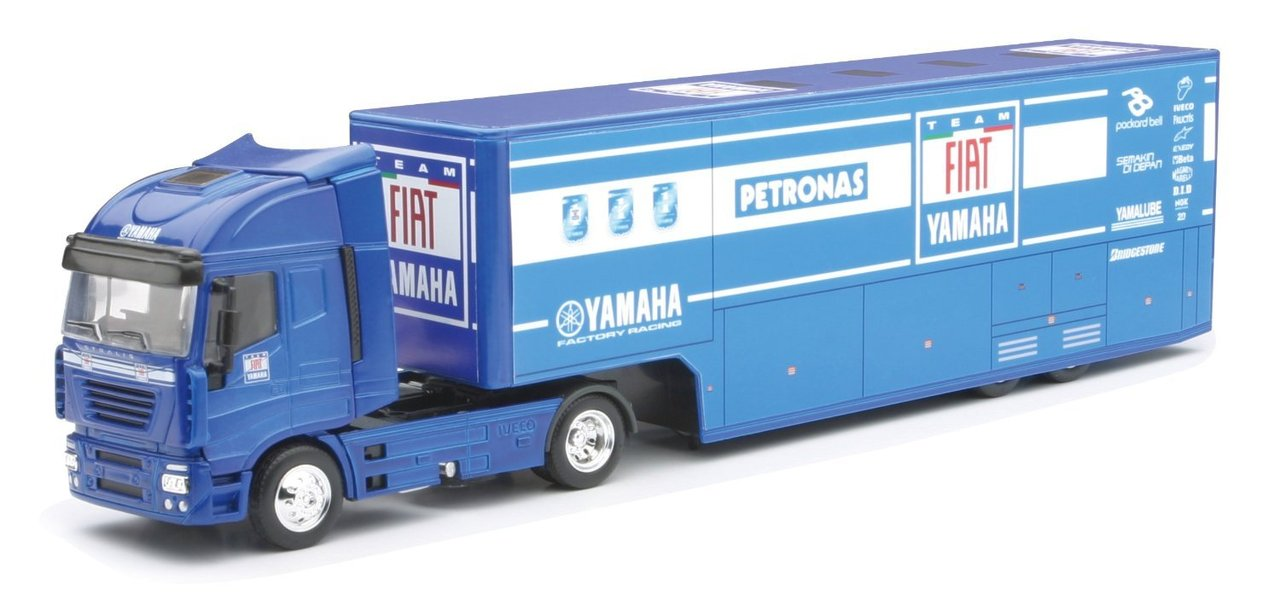 1:43 Iveco Stralis Yamaha Racetruck Fiat-Team 2010