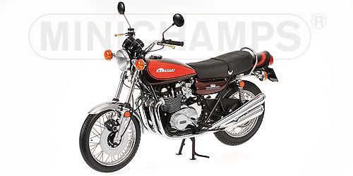 1:6 Kawasaki Z2 750 RS braun-orange Minichamps