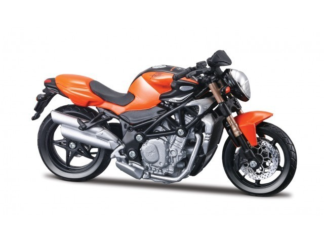 1:18 MV Agusta Brutale S orange von bburago
