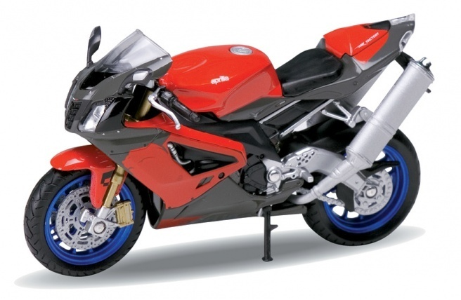 1:18 Aprilia RSV 1000R rot Welly