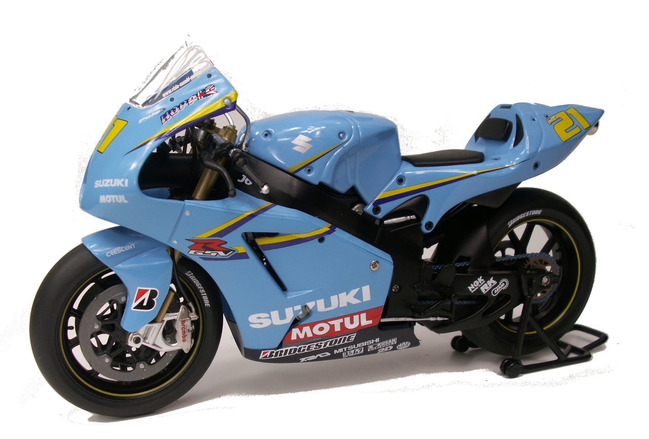 1:12 Suzuki GSV-R John Hopkins 2006