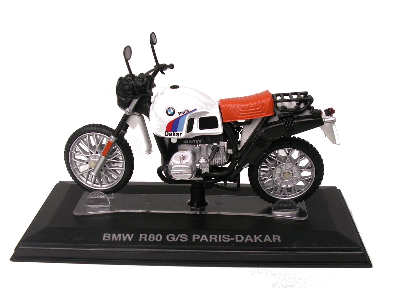 1:24 BMW R 80 GS Paris/Dakar