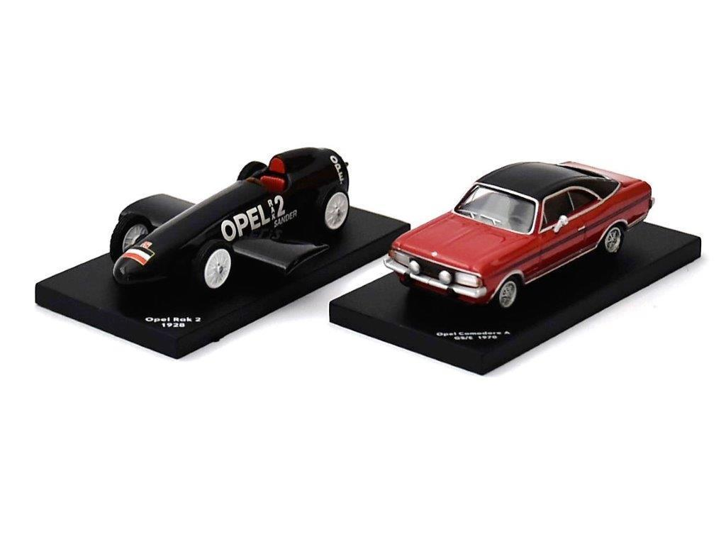 1:87 Set 2 x Opel - RAK 2 + Commodore A