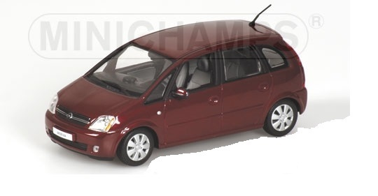 1:43 Opel Meriva in rot-metallic von Minichamps