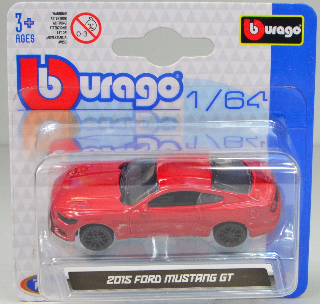 1:64 Ford Mustang GT 2015 rot von bburago